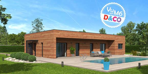 La gamme de maison individuelle ossature bois for Differente toiture maison